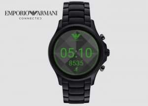 Emporio Armani Connected Touchscreen Smartwatch Unveiled (video)