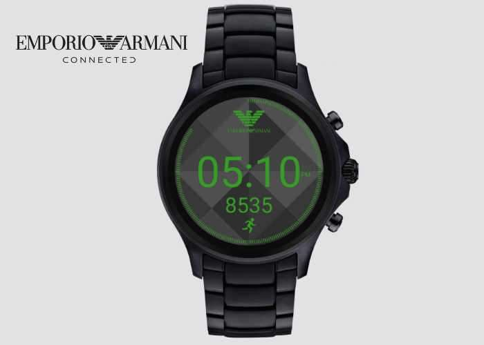 Armani Connected Touchscreen Smartwatch
