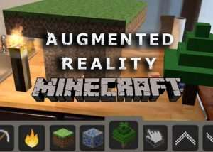 Augmented Reality Minecraft (video)