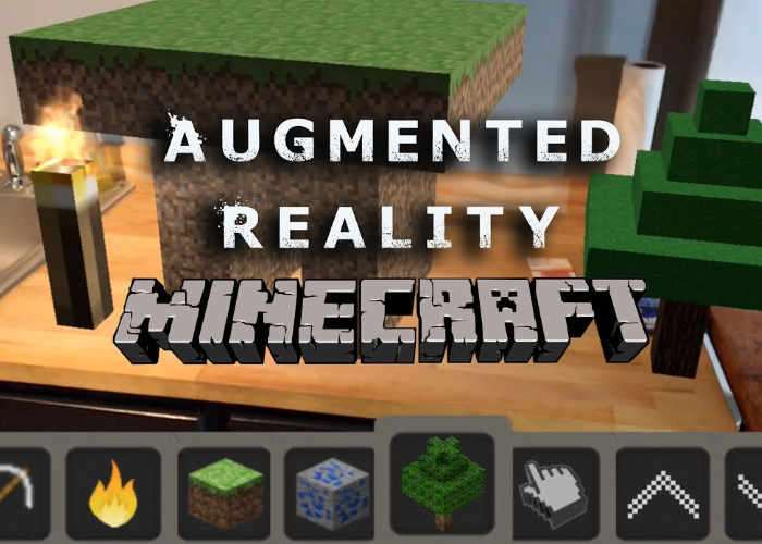 Augmented Reality Minecraft