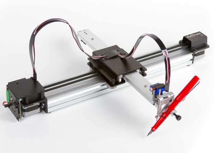 AxiDraw V3 pen plotter