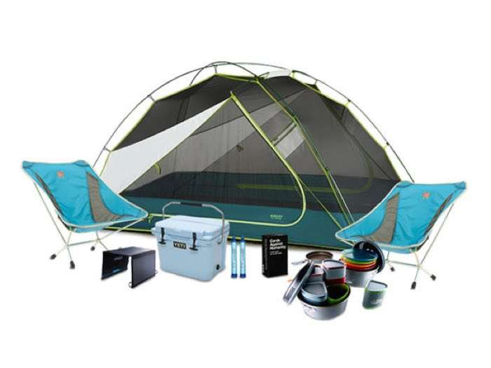 Enter The Camping In Comfort Giveaway