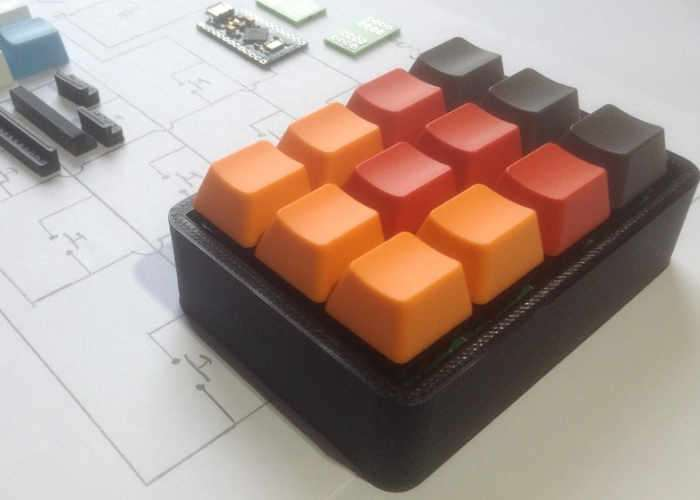 Customisable Shortcut Keypad