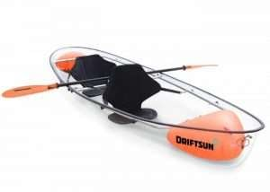 Driftsun Transparent Kayak Now Available For $1,600 (video)