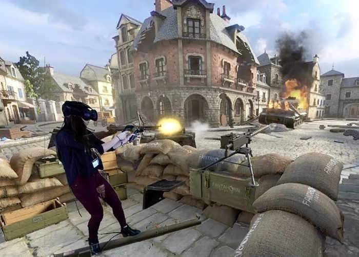 Front Defense VR Immersive Bunker Defence Game