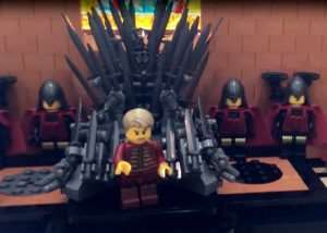 Game of Thrones Red Keep Recreated In LEGO (video)