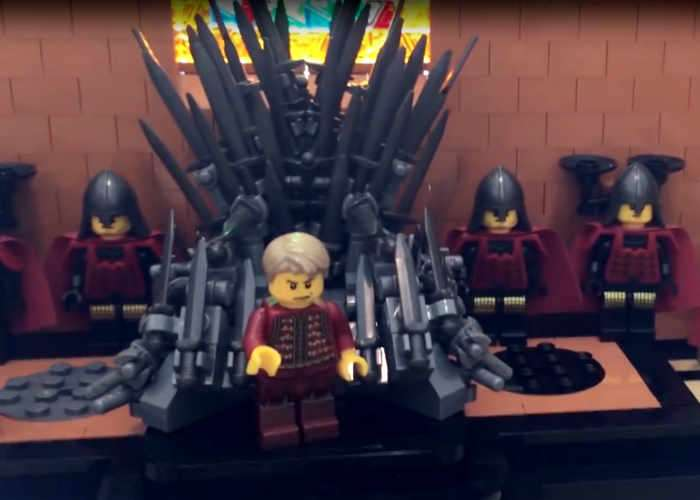 Game of Thrones Red Keep Recreated In LEGO