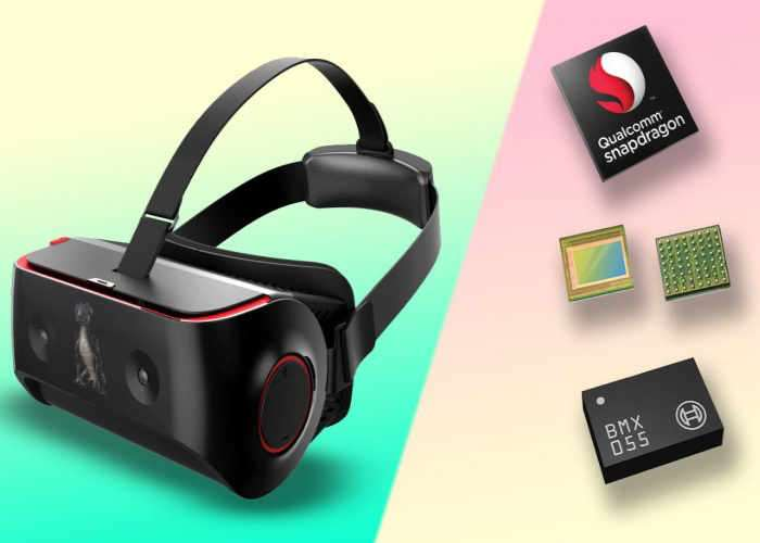 HTC Vive And Lenovo Standalone VR Headsets