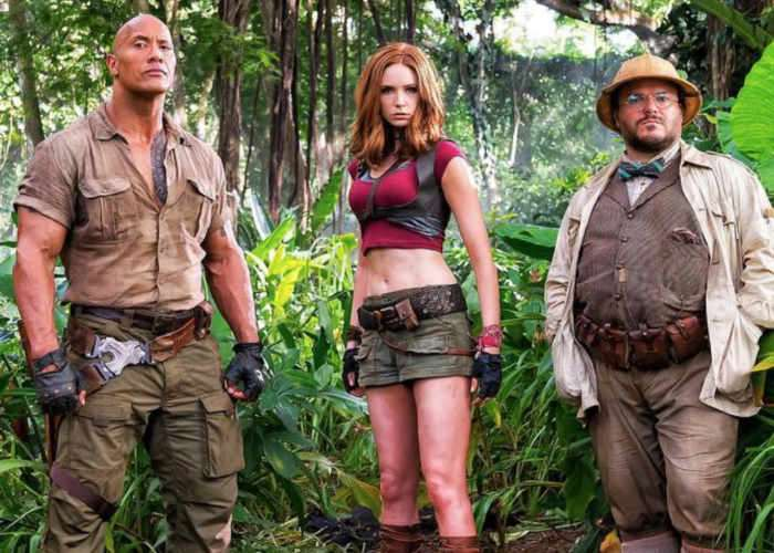 Jumanji 2 Starring Dwayne Johnson