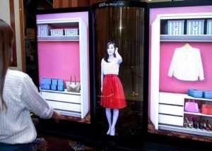 Massive 77 Inch LG Transparent Flexible OLED Display Unveiled