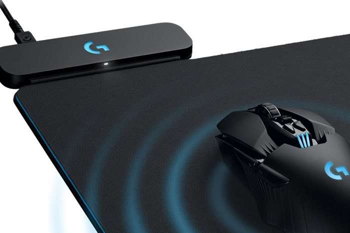 Logitech Powerplay Mouse Pad Charges Your Wireless Mouse
