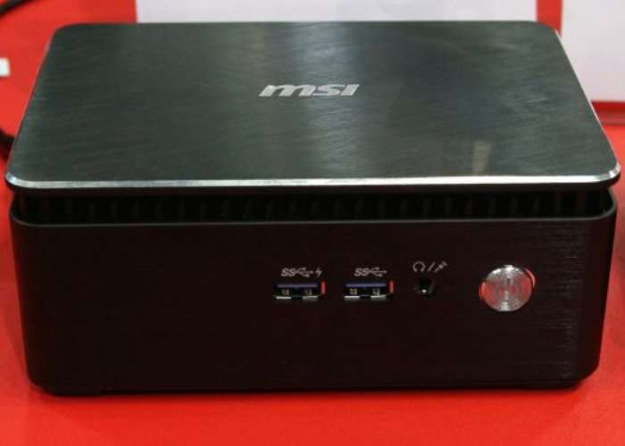 MSI Cubi 3 Fanless Desktop Mini PC