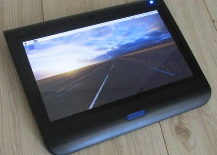 Open Source Raspberry Pi Tablet