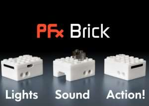 PFx Brick Adds Special Effects To Your LEGO Builds (video)