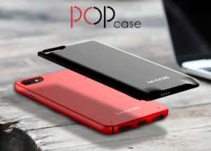 POP iPhone Case With Removable Battery Pack (video)