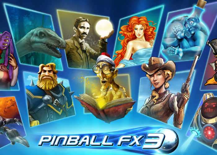 Pinball FX3 Community-Focused Pinball Game
