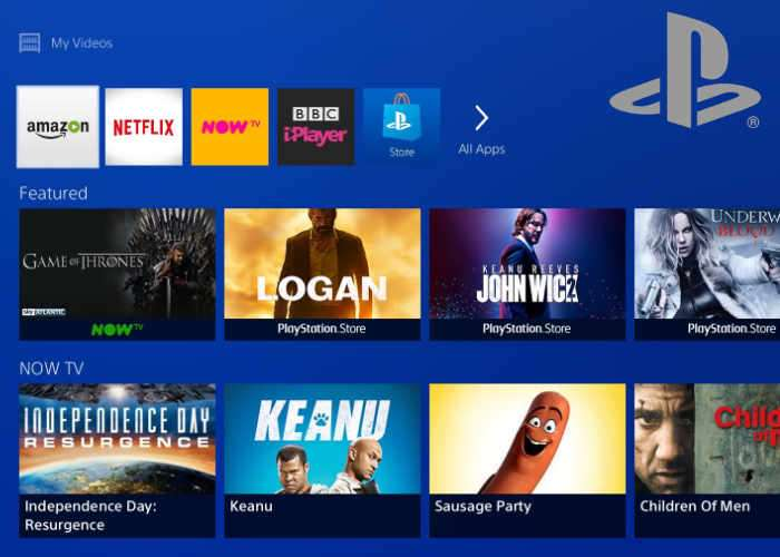 PlayStation 4 TV And Video Experience
