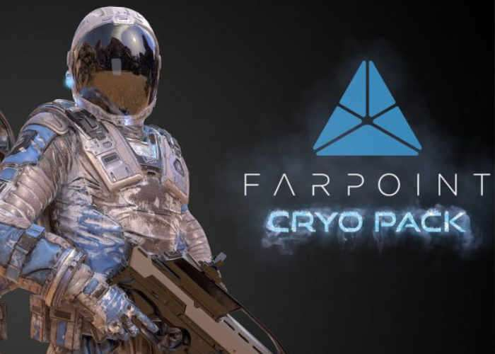 PlayStation VR Farpoint Cryo Pack