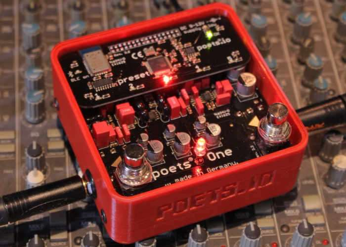 Poets One Analog Guitar Preamp