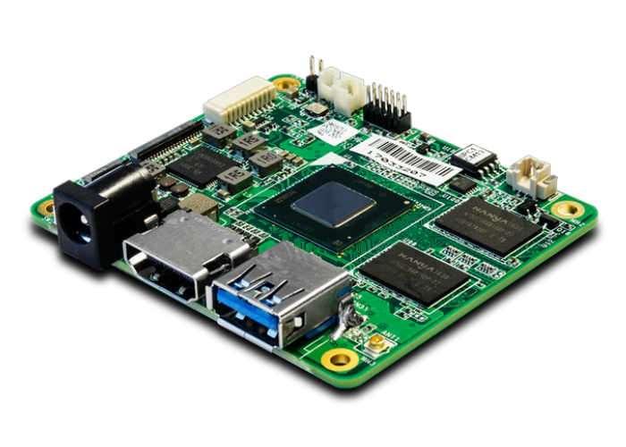 QuadCore x86 single board computer
