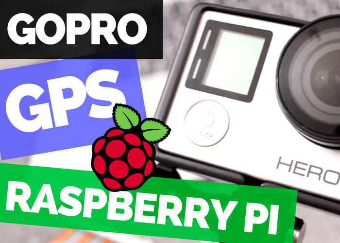 Raspberry Pi GoPRO GPS Controlled Photo