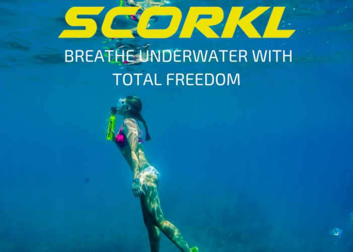 SCORKL Personal Underwater Breathing System