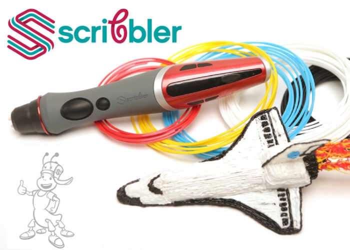 Scribbler DUO Dual-Nozzle 3D Printing Pen