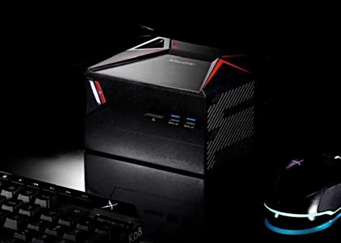 shuttle x1 compact gaming desktop pc launching soon. Black Bedroom Furniture Sets. Home Design Ideas