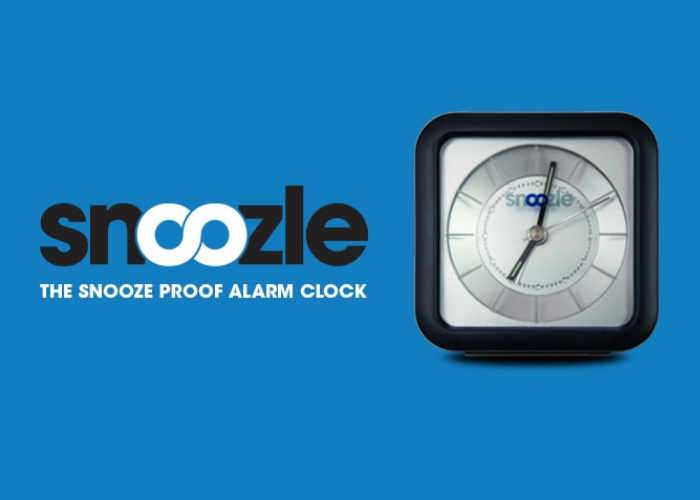 Snoozle Snooze Proof Alarm Clock