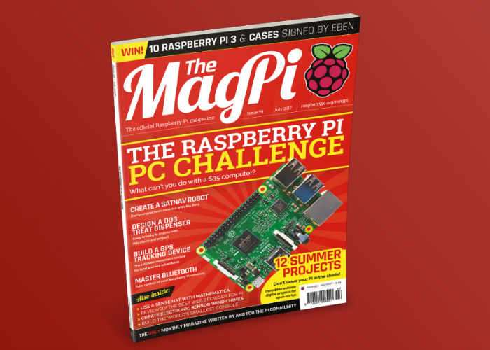 The Raspberry Pi Magazine MagPi Issue 59 Now Available