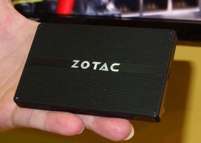 Tiny Zotac PI225 Fanless Mini PC