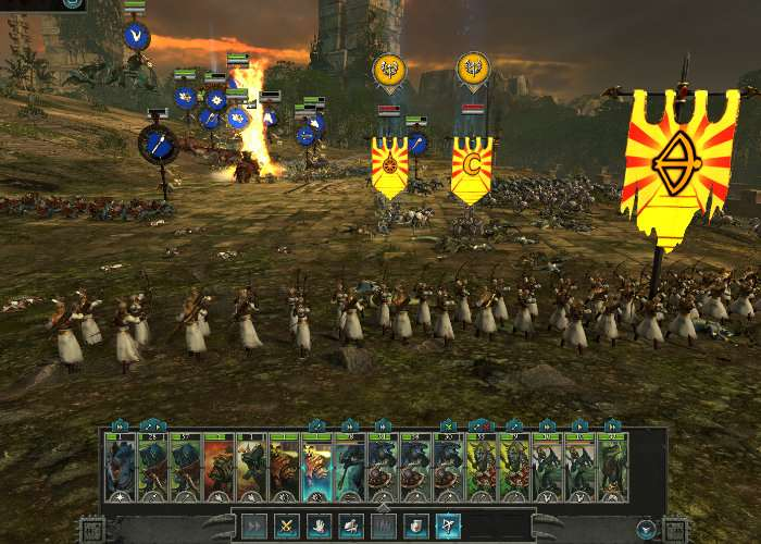 Total War Warhammer 2 Campaign Gameplay