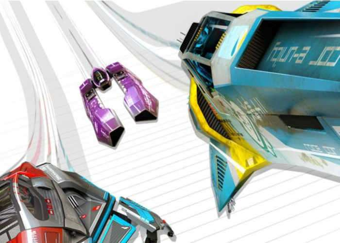 WipEout Omega Collection releases on PS4