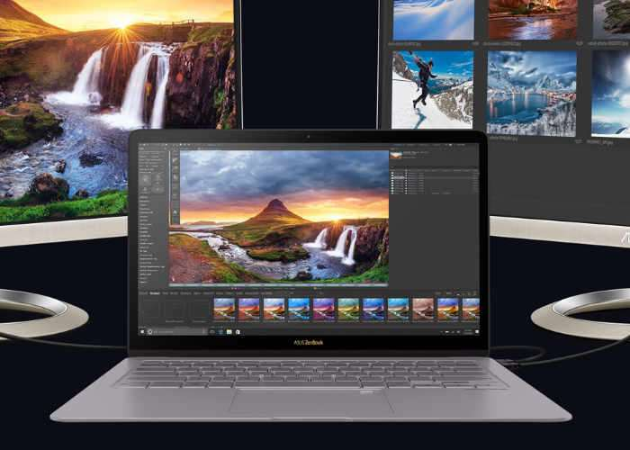 Zenbook 3 Delux UX490UA Notebook