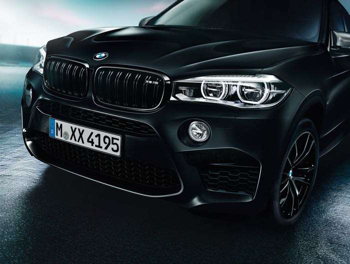BMW X5 M and BMW X6 M Black Fire Editions