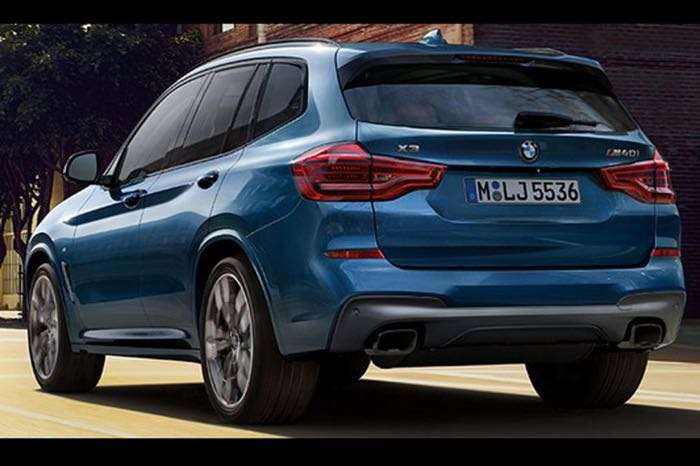 new bmw x3 appears in leaked photos geeky gadgets. Black Bedroom Furniture Sets. Home Design Ideas