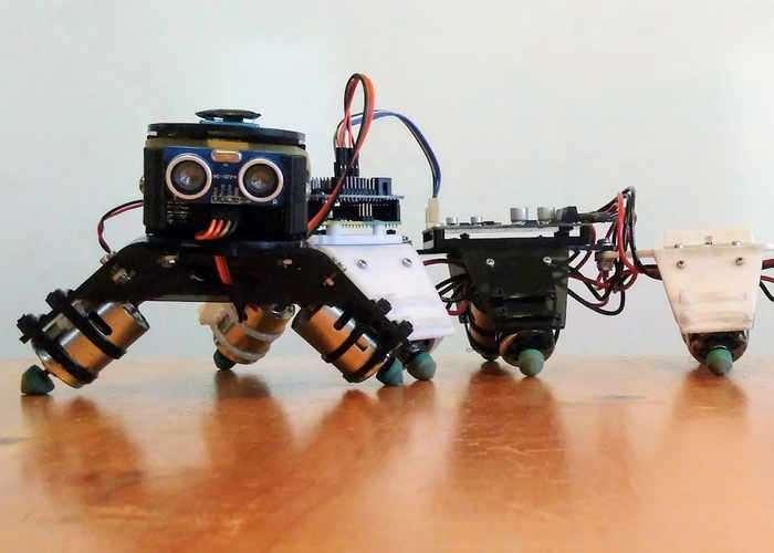 Arduino Centipede Robot