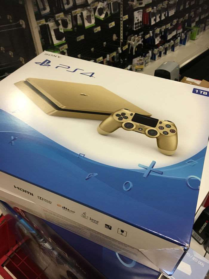 Sony Confirms Gold PlayStation 4 Slim