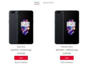 OnePlus 5 Now Available In The UK