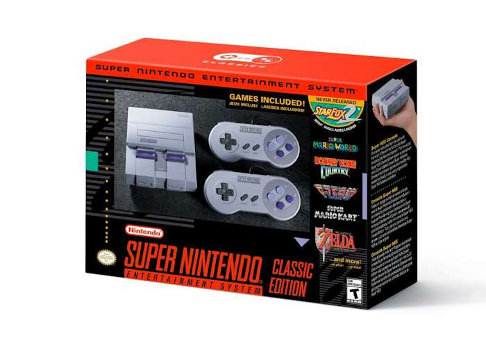The SNES Classic arrives on September 29th