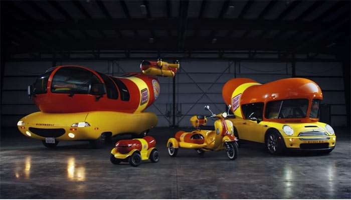 Oscar Mayer Wienerfleet Transports Hot Dogs Anywhere 2017 06 27 on oscar mayer bologna facebook