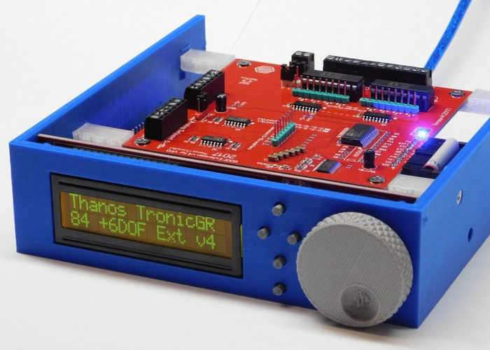 6DOF Electronic Interface For Motion Simulations