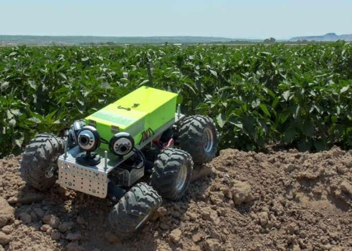 AGRowBot Autonomous Robot