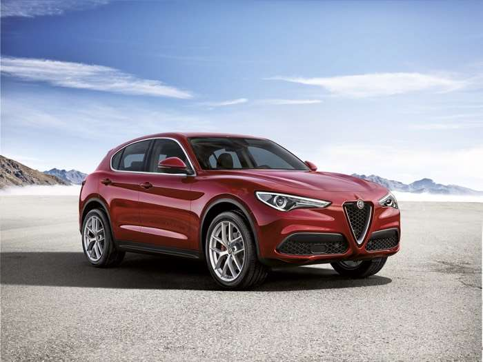 Alfa Romeo Stelvio SUV Costs £33990 In The UK
