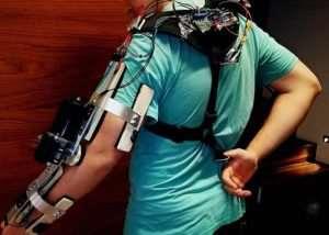 $100 Arduino Powered Assistive Exoskeleton Arm (video)