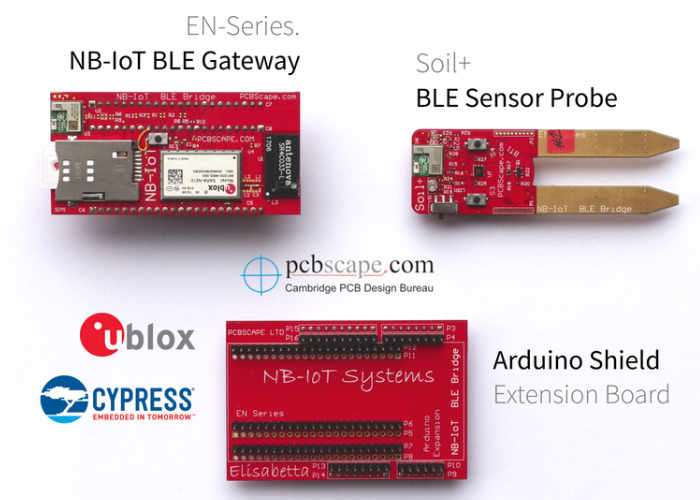 BLE Gateway And Soil Sensor