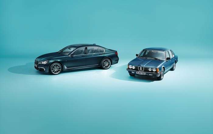 BMW 7-Series Edition 40 Jahre Debuts Before Frankfurt