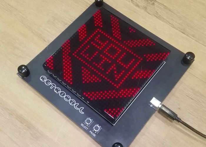 DIY RetroBall Electronic Game Kit