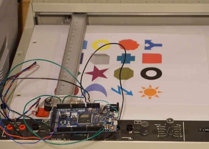 DIY Single Pixel Scanner