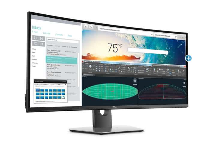 Dell UltraSharp U3818DW monitor